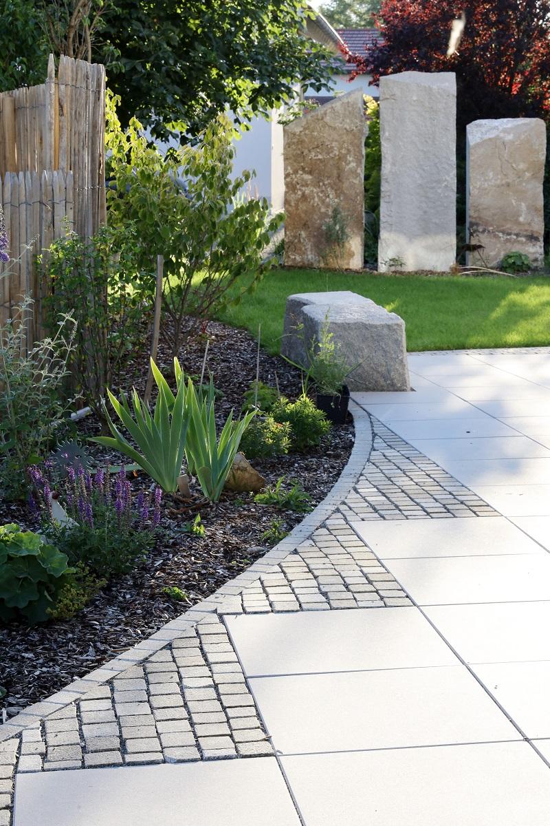 Designgarten | Terrasse | Sichtschutz | Bepflanzung