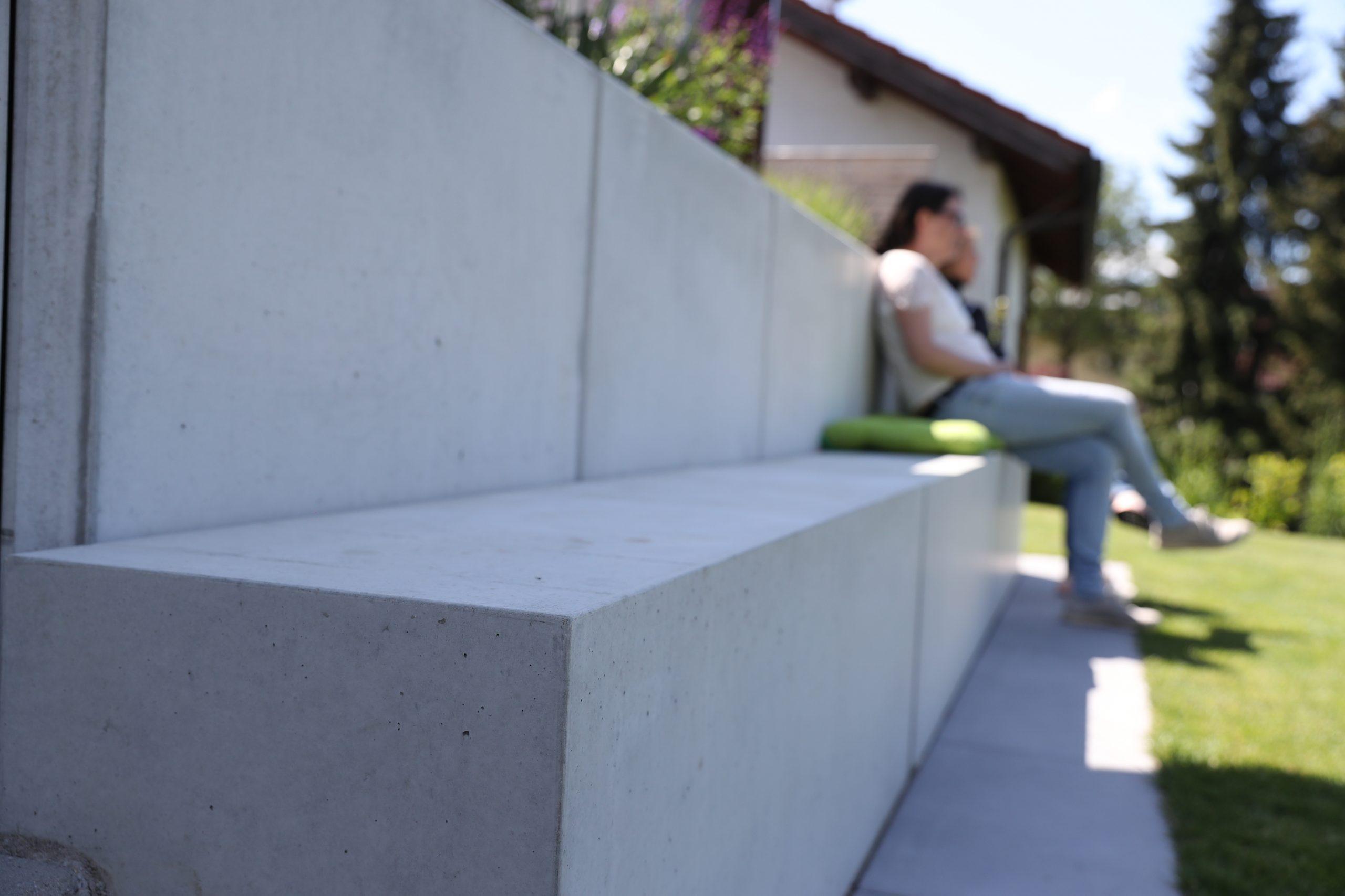 Designgarten | Sitzblöcke | Beton